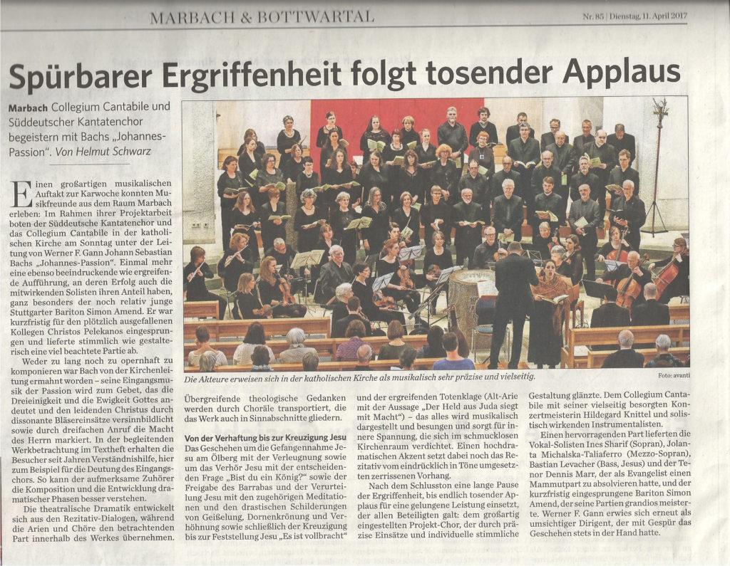 Johannespassion-Marbacher_Zeitung
